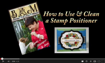 Video:  How to Use & Clean Your Stamp Positioner