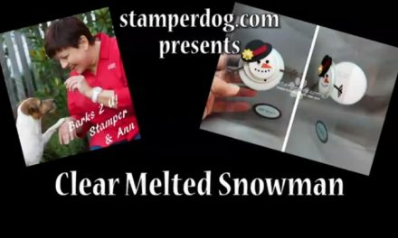 Clear Melted Snowman Video
