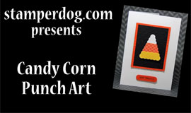 Halloween Punch Art Candy Corn Video