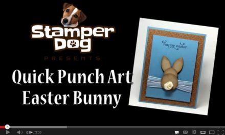 3 Minute Punch Art Easter Bunny Video