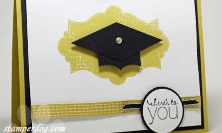 It's a Graduation Celebration at StamperDog.com!