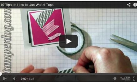 10 Tips About Using Washi Tape