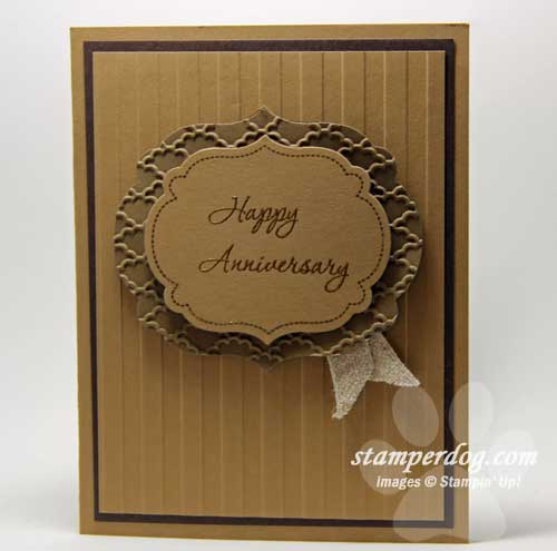 Masculine Anniversary Card