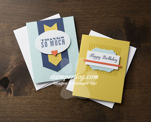 Ready Made Handmade Stampin' Up! Cards