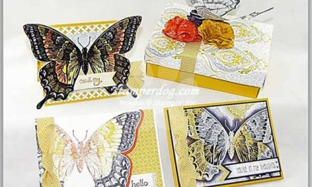 Free Butterflies in Your Stamp Room