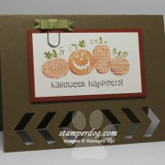 Peek-A-Boo Halloween Card