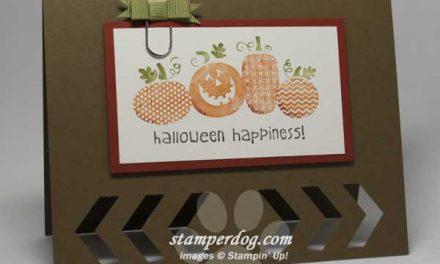 Peek-A-Boo Halloween Card
