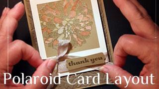 Polaroid Layout Technique Video