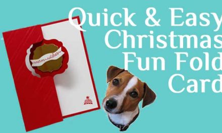 Quick & Easy Christmas Card Video