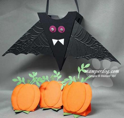 Bat-Pumpkins