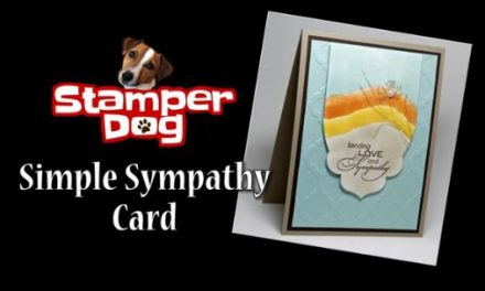 How to Make a Simple Sympathy Card