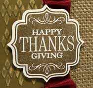 Thank YOU on Thanksgiving
