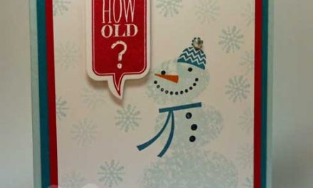 Happy Birthday Snowman Sneak Peek