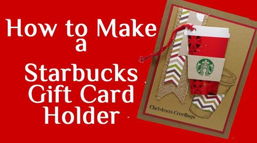 Starbucks Christmas Gift Cards