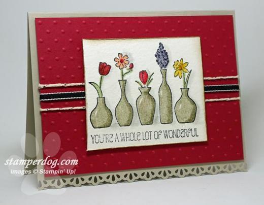 Strawberry Vases