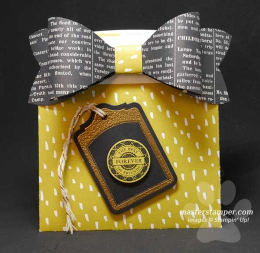 Envelope Bow Card