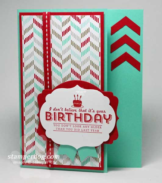 Coastal Cabana Birthday Card