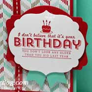 Fresh Prints Birthday Card