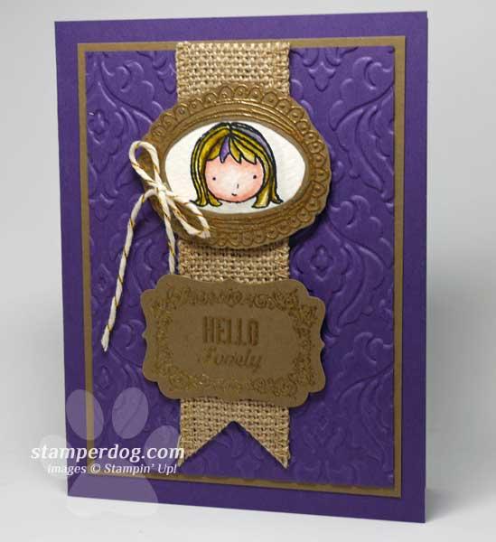 Royal Sweetie Pie Card