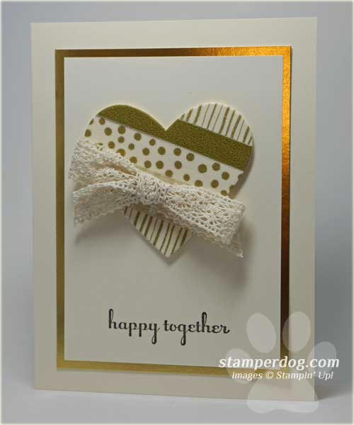 Simply Elegant Wedding Card