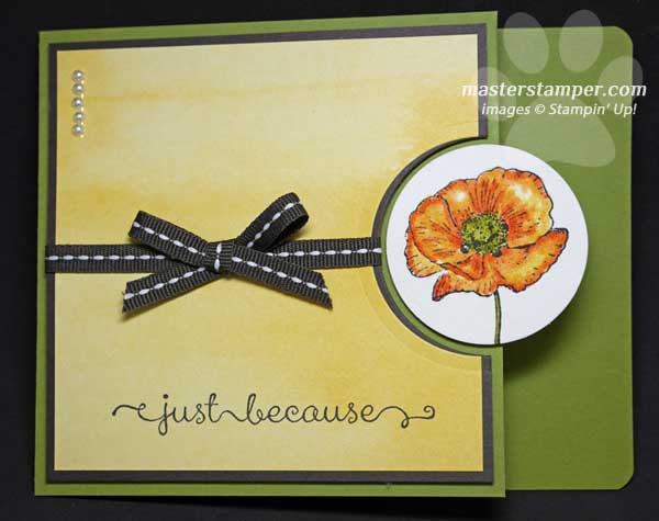 Water Color Circle Card