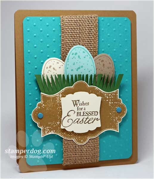 Ideas For Making Easter Cards Part - 18: Easy To Make Easter Card