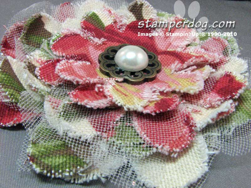 Fabric Flowers & Weekly Deals!