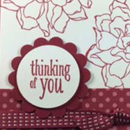 We're Thinking of You Card
