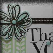 Quick and Cute Thank You Card