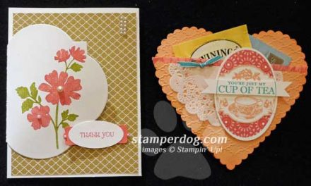 Back from the Stampin' Up! Cruise