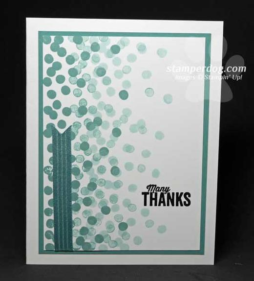 Another Thank You Card Stampin Up Demonstrator Ann M