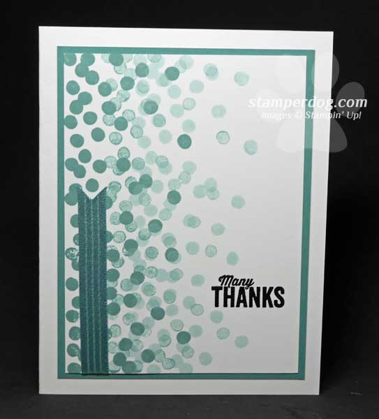 Another Thank You Card Stampin Up Demonstrator Ann M Clemmer