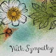Quick & Elegant Sympathy Card