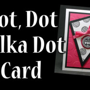 Polka Dot Card Video Technique