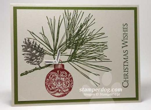 Evergreen Christmas Card