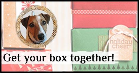 Win a Gift Box Punch Board