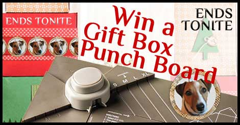 Win a Gift Box Punch Board