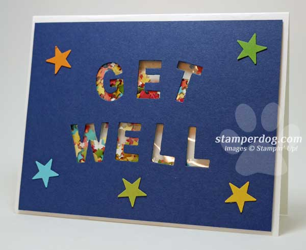 Get Well Soon Card Stampin Up Demonstrator Ann M Clemmer