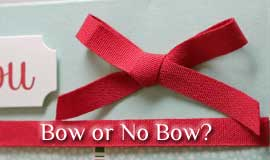 To Bow or Not