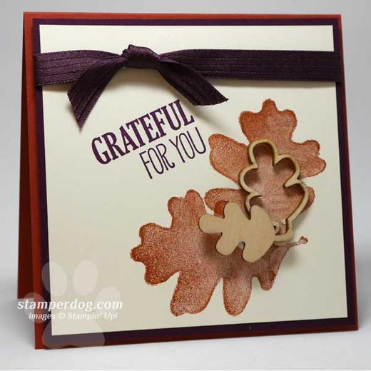 Fall Thank You Card