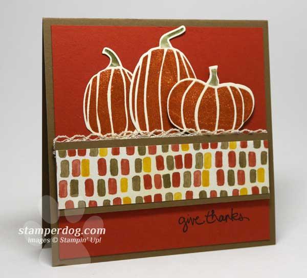 Pumpkin Thanksgiving Card