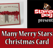 How to Make a Starry Christmas Card Video