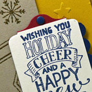 Patriotic Holiday Card & Card Giving Days
