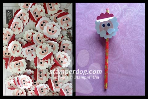 Jacqui's Santa Pencils
