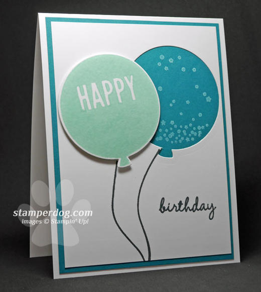 Island Indigo Birthday Card