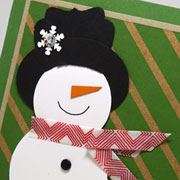 Snowman Birthday Card