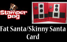 Fat Santa Card Video Tutorial