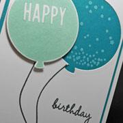 Sneak Peek Birthday Card