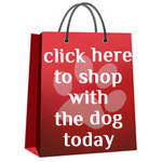 Shop with Stamper Dog