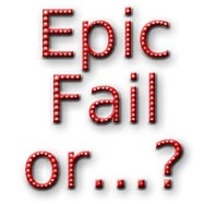 Picture Experiment – Epic Fail?